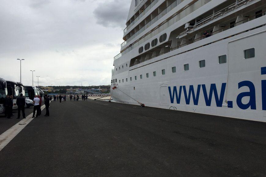 Ferry ports in Croatia